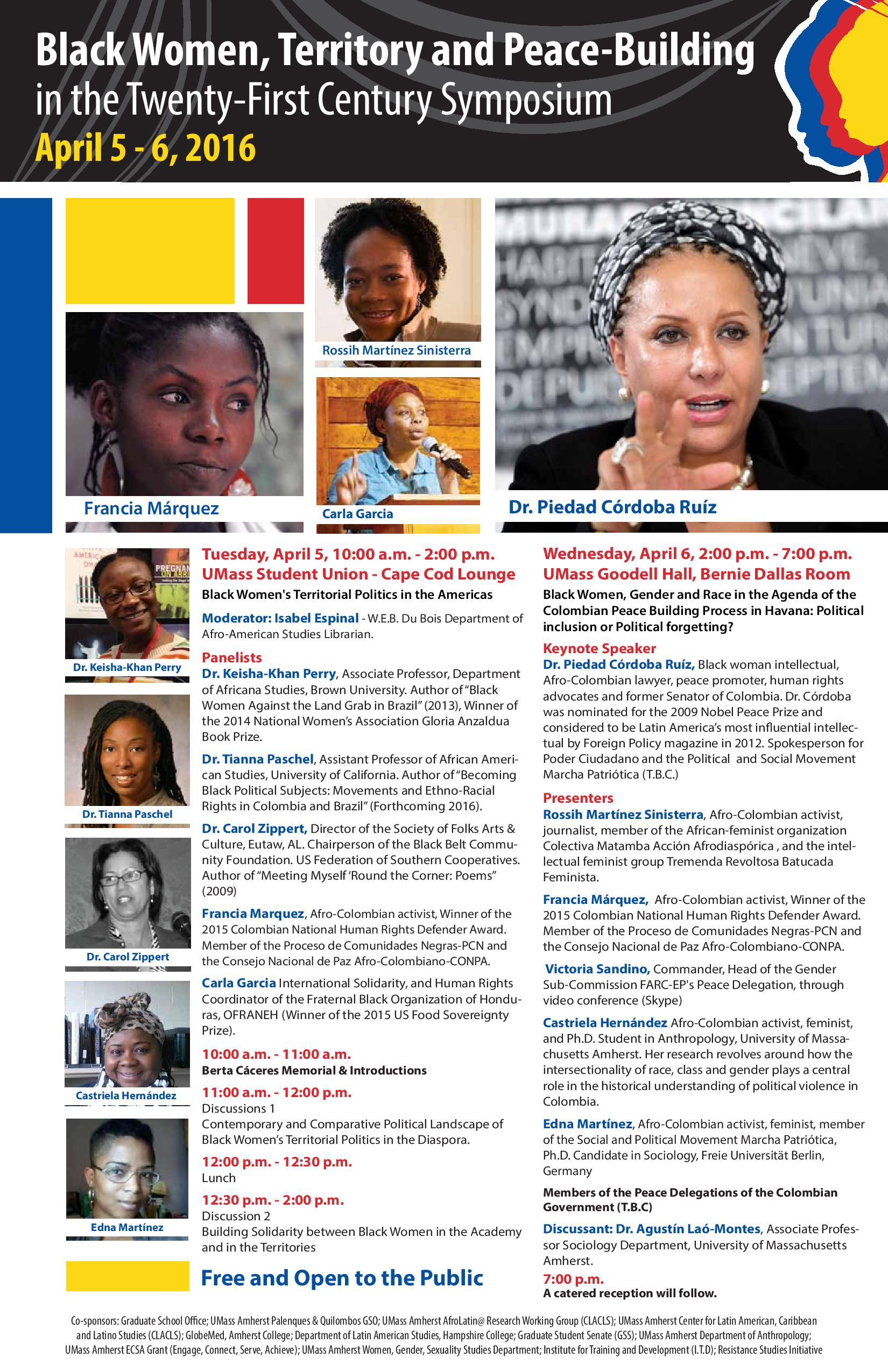 Black Women, Territory and Peace- Building in the Twenty